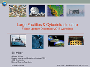 Cyberinfrastructure Scoping Roundtable | 2016