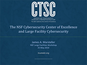Cybersecurity Center of Excellence | 2016