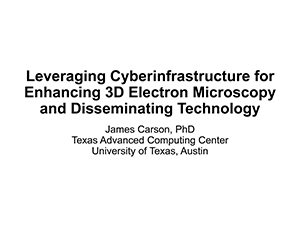 Cyberinfrastructure Understanding Synapses in the Brain, Carson | 2019