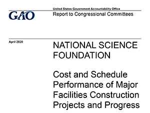 U.S. Government Accountability Office Report | 2020